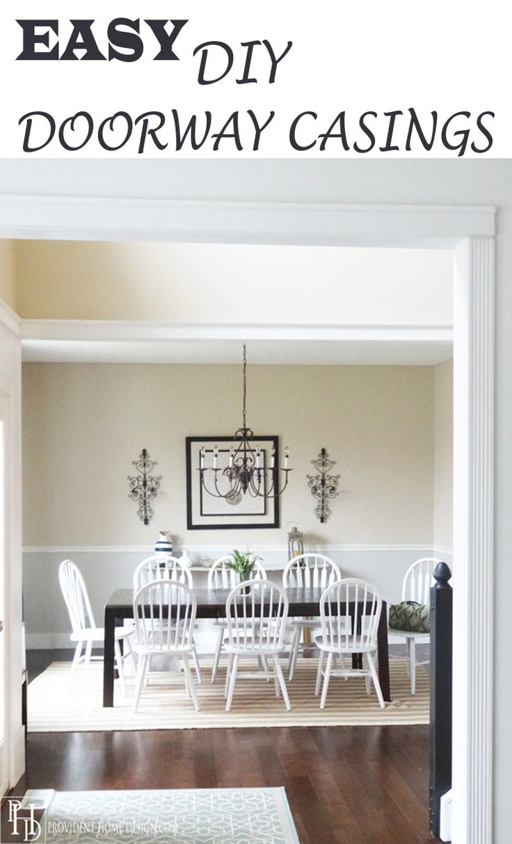 170 best provident home design blog images on pinterest home casing a doorway opening does wonders in upgrading the look of a home you won