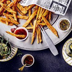 Für unser Süßkartoffel Pommes Rezept brauchen Sie keine Fritteuse. #pommes #süßkartoffel #edeka