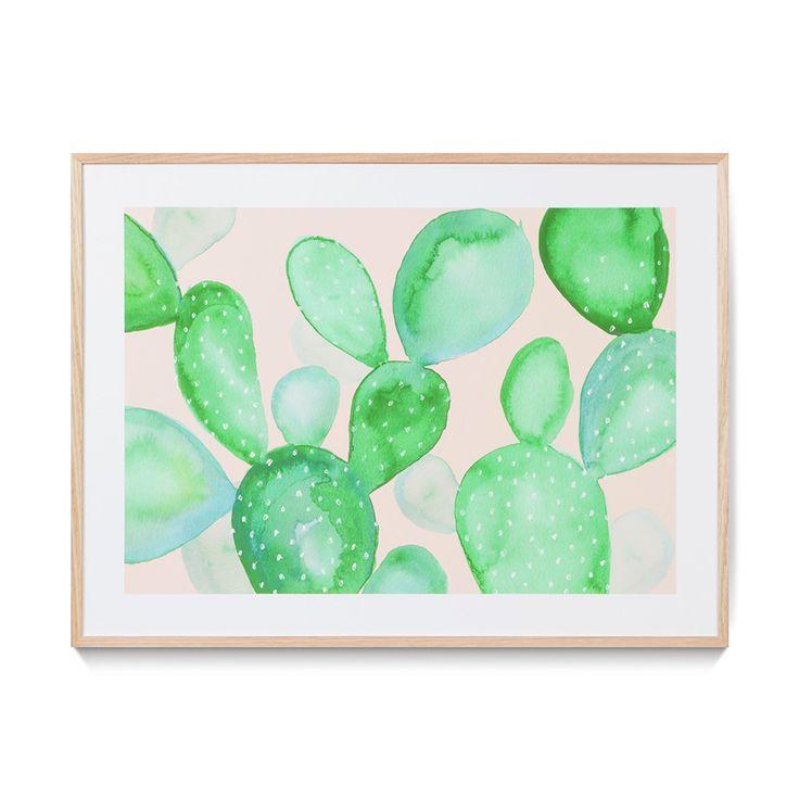 Arizona Cactus Print - Wall Art