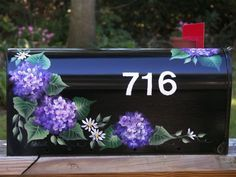hand painted mailbox ideas - Google Search