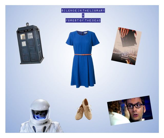 """""""Healing Touch: Silence in the Library & Forest of the Dead"""" by chell-p on Polyvore featuring art, romantic, adventure, doctorwho, OC and fanfiction"""