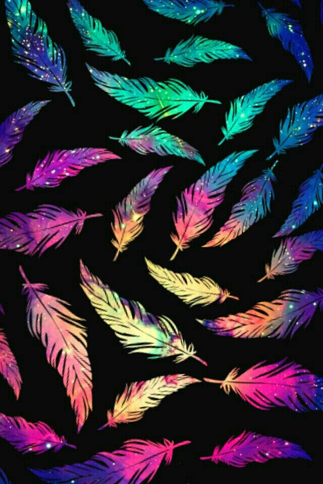 Feather wallpaper Pinterest : @uniquenaja ☼