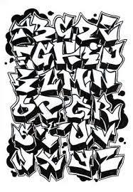 Resultado de imagen para graffitis faciles de hacer a lapiz letras abecedario