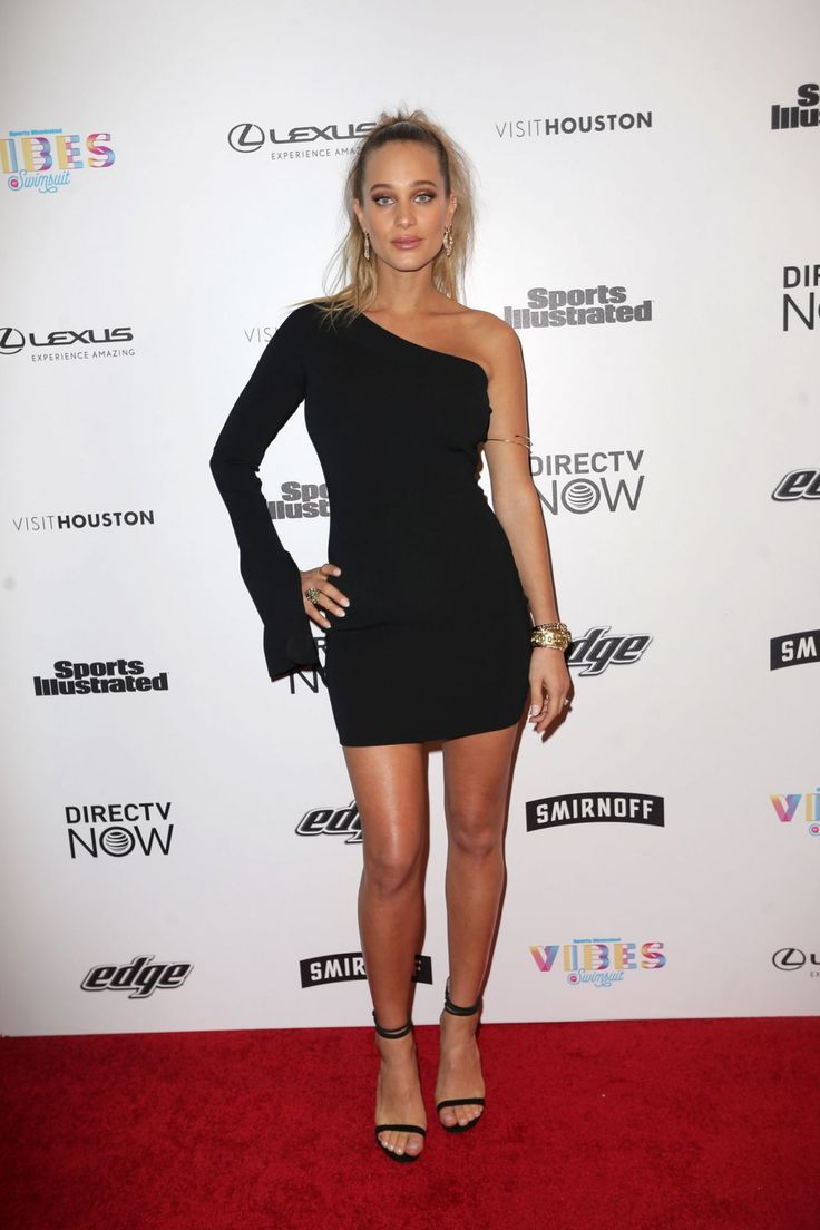 hannah davis model | Hannah Jeter – VIBES By SI Swimsuit 2017 Launch in Houston ...