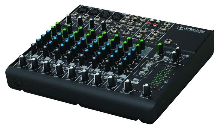 Mackie 1202VLZ4 12-Channel Compact Pro Audio Mixer
