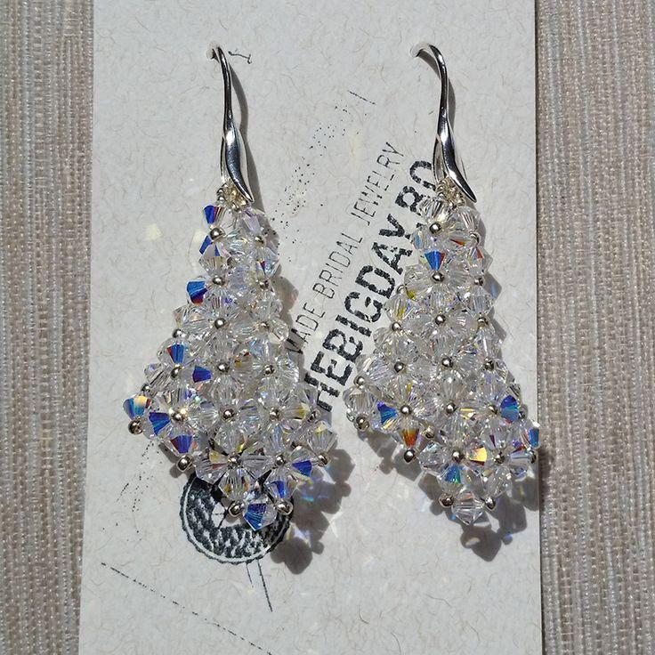 The Big Day | #1-0031 Cercei Swarovski Cristal Cones http://thebigday.ro/ #Swarovski #swarovskijewelry #jewelry #handmadejewelry #wedding #mireasa #bijuterii #cristale #bijuteriimireasa #nunta
