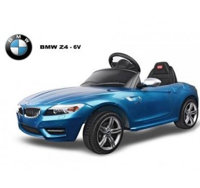 licensed bmw z4 6v ride on car with parent remote