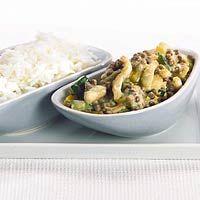 Recept - Thaise linzen-kipcurry - Allerhande