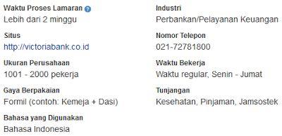 Lowongan Kerja Bank Jakarta Februari 2017 PT Bank Victoria International, Tbk