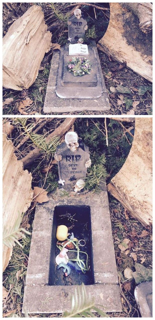 Spooky little geocache. Good for Halloween. #IBGCp …