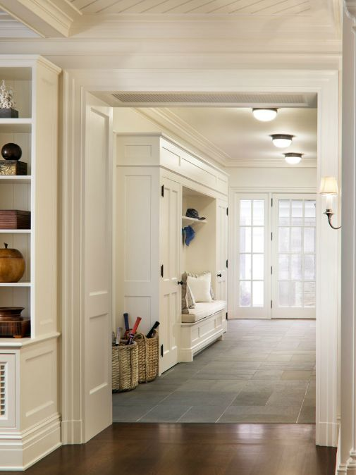 Downstairs entryway mud room inspiring decor design for Mudroom floors