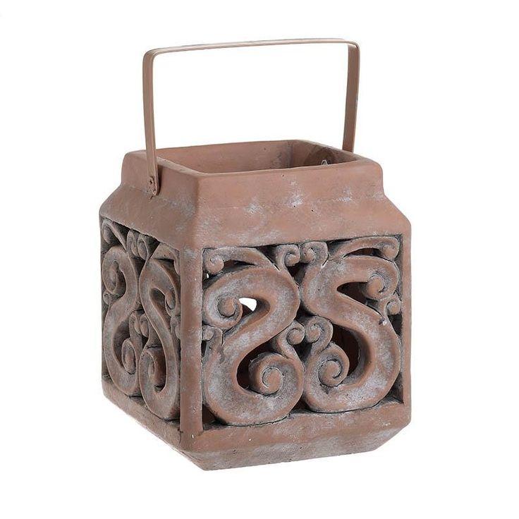 Ceramic Lantern - inart