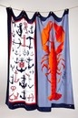 Tommy Hilfiger Anchors Red/Classic Lobster Beach Towels