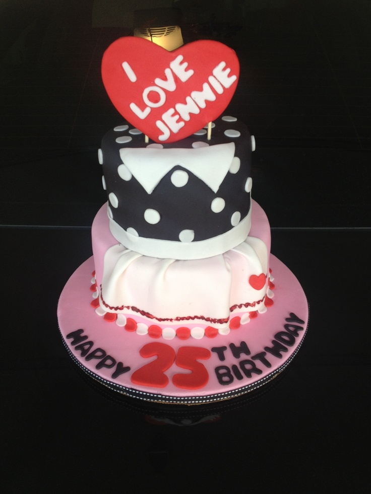 My I Love Lucy Birthday Cake