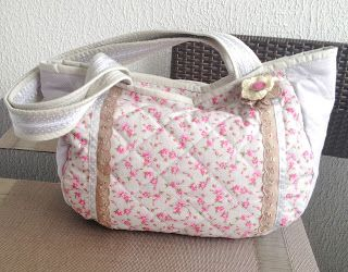 Sacola de patchwork quilt