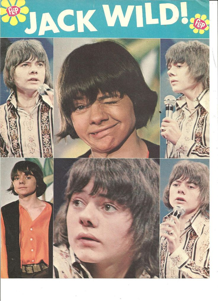 Jack Wild H R Pufnstuf Full Page Vintage Pinup The Partridge Family | eBay