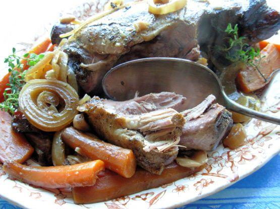 Gigot A La CuillAndegrave;re - French Slow Cooked Spoon Lamb Recipe - Food.com: Food.com