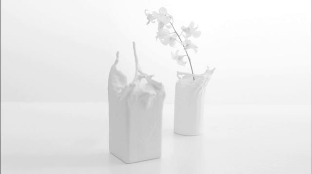 Fluid Vase - Action becomes Object by Kwok Pan Fung. Launch of Fluid Vase at www.supabold.com