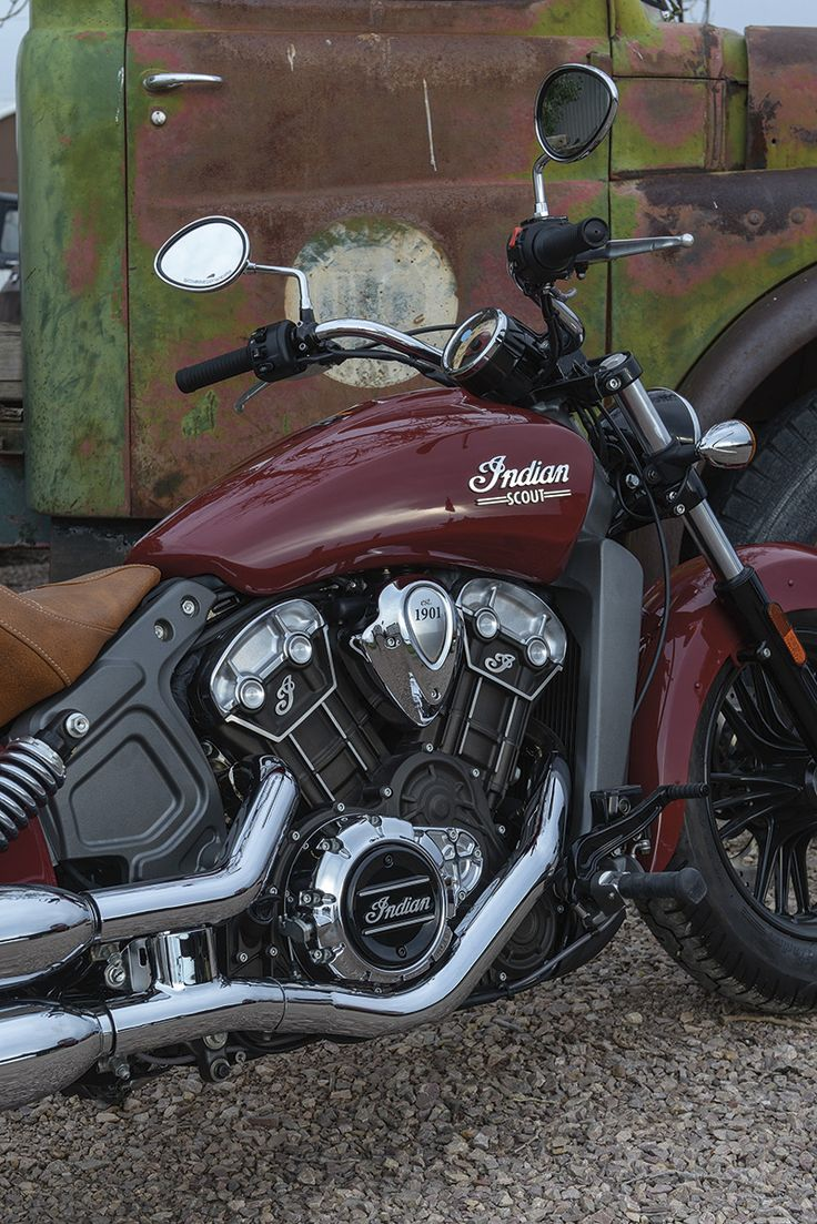 I want to throttle you. 2015 Indian Motorcycle Scout - 100 HP, 45 MPG super gallery (68 photos + video)
