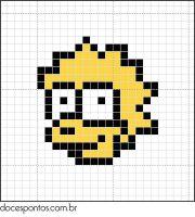 cross stitch - The Simpsons