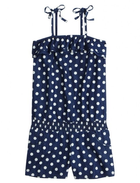Cute navy blue romper, shorts and tank top in one. Romper and image found at justice girls clothing store     www.shopjustice.com