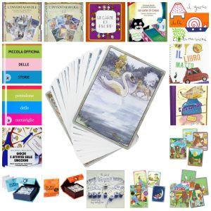Carte e giochi da tavolo per inventare fiabe, favole e racconti per tutte le età
