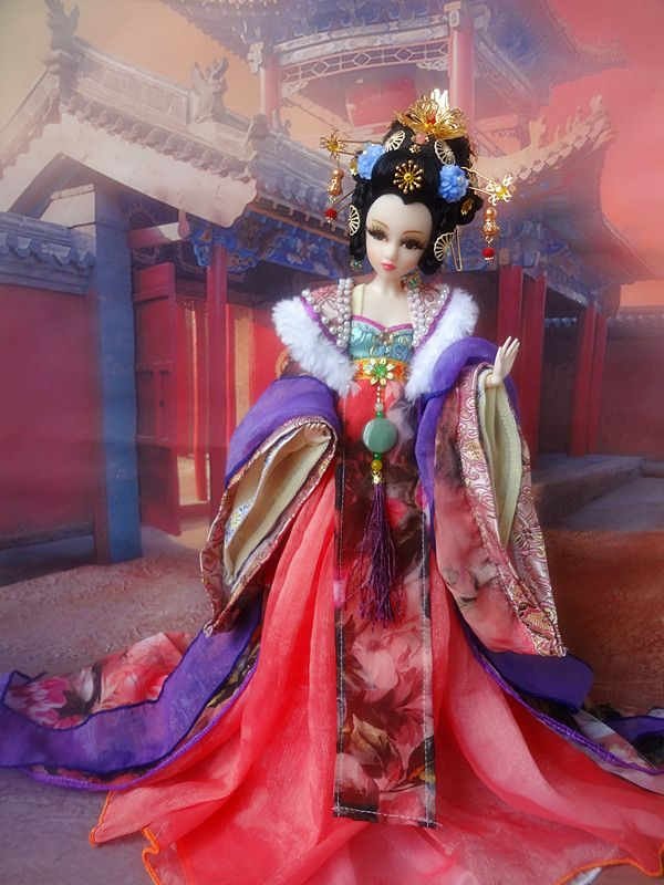 Handmade Vintage Chinese Dolls