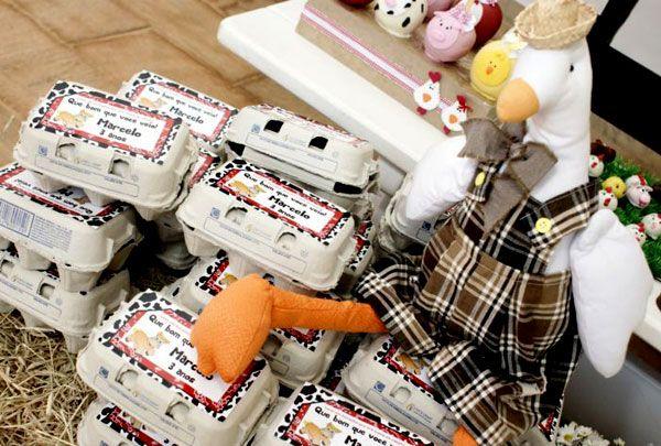 festa-aniversario-infantil-fazendinha-12: Festa Infantil, Eggs Farm, For Party, Decorating Parties, Farm Theme, Little Farm Party, Farm Party