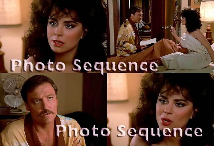 MIKE HAMMER Delta Burke Stacy Keach PHOTO Sequence #11