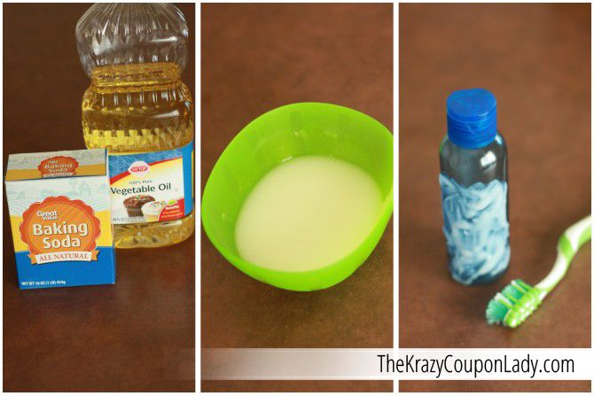 Get Rid Of Sticky Labels With Homemade Goo Off