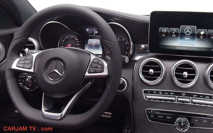 Mercedes C Class 2014 Interior New C250 W205 In Detail Commercial HD 201...
