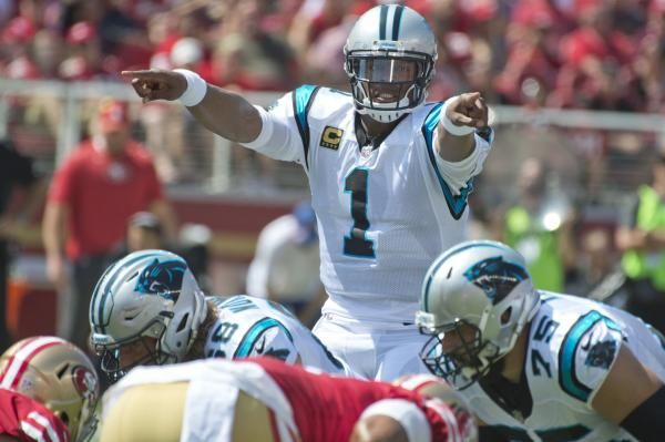 """Carolina Panthers quarterback Cam Newton made a sexist remark toward a female reporter on Wednesday, saying it was """"funny to hear a female""""…"""