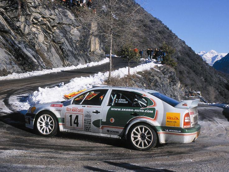 Škoda Octavia WRC Evo3
