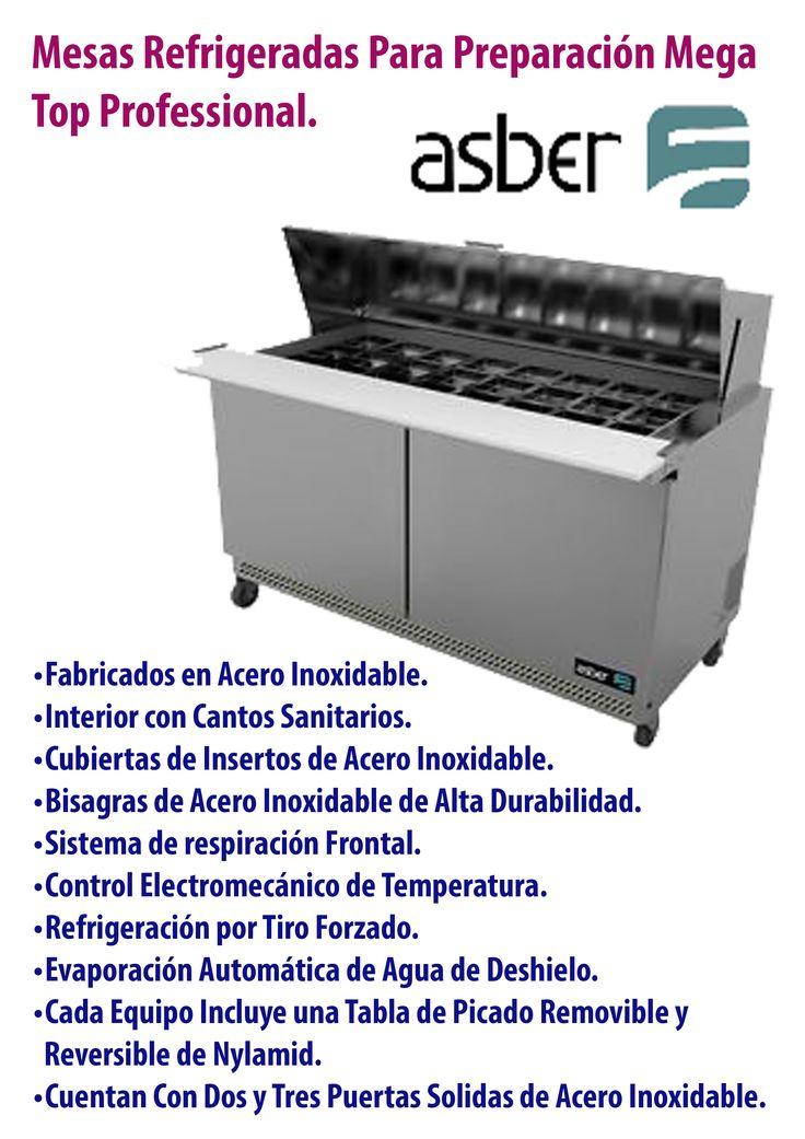 Mesa refrigerada #Asber.