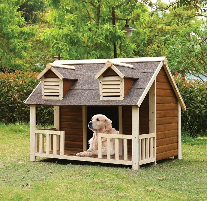 Dog House Kennel – Build A Luxury Dog House For Pets