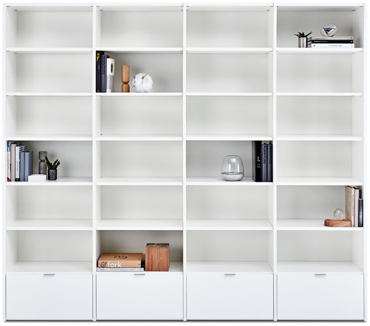 Sistema de pared Copenhagen - librerías y almacenamiento de BoConcept.