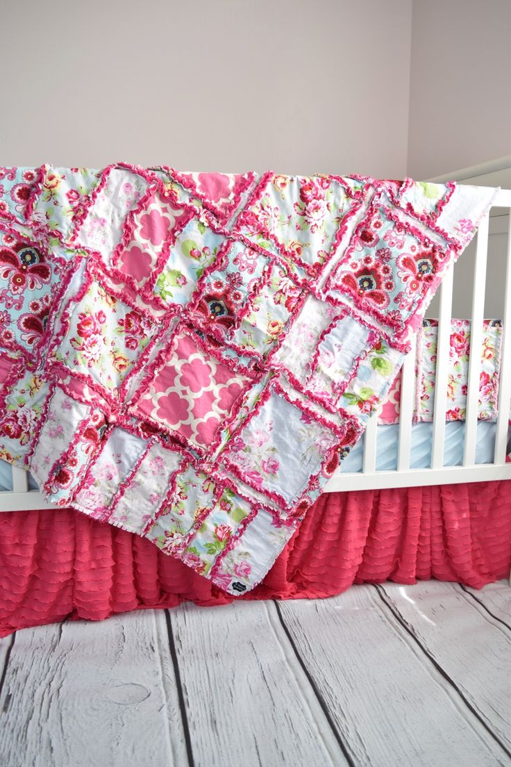 Crib for sale louisville ky - Beautiful Crib Set Made In Gorgeous Shabby Chic Floral And Damask Fabric For Baby Girl Crib
