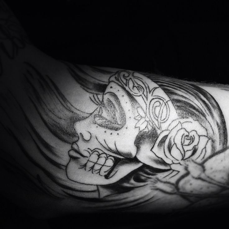 Design by Steve Soto  Tattoo by Camilo Castro  Aka  Tattooist Castro