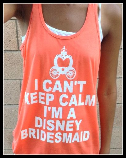 Getting Married AT Disney. Perfect I Can't Keep Calm Flowy Tank Top For Bride and Bridal Party. I'M Getting Married At Disney Tank Top on Etsy, $20.00