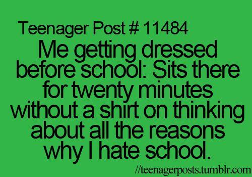 Istp hate school funny