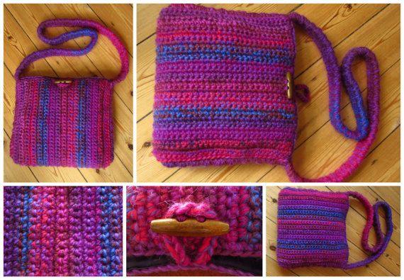 Purple Crossbody Bag Purple Purse
