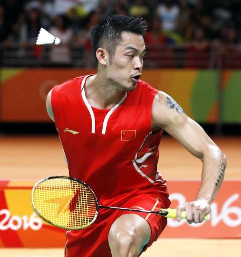 Malaysia's Lee beats two-time Olympic champion Lin of China:  August 19, 2016  -    China's Lin Dan returns a shot to Malaysia's Lee Chong Wei during a men's badminton singles semifinal match at the 2016 Summer Olympics in Rio de Janeiro, Brazil, Friday, Aug. 19, 2016. (AP Photo/Vincent Thian)