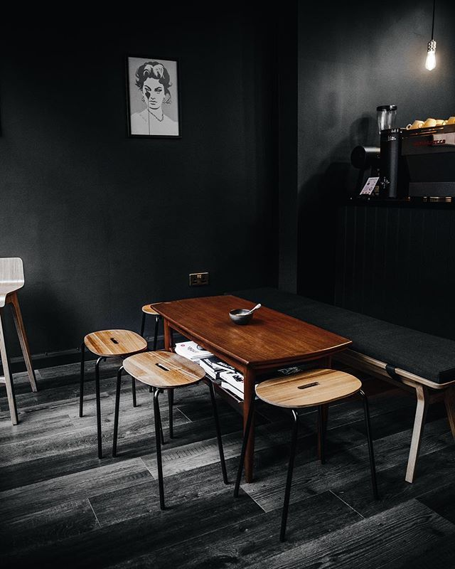 Latest Caffeine Haunt In Ma Hometown Coffeeshopcorners Can Modern Minimalist Interior Modern Interior Design Coffee Table