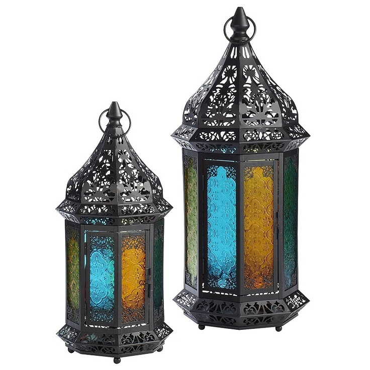 Add an exotic global vibe to your patio with our Moroccan Lanterns