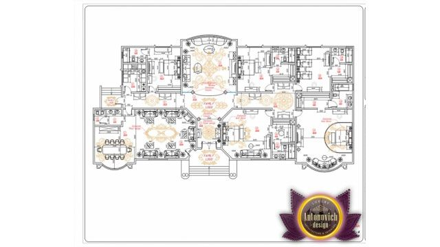Bespoke Luxury House Plan In Dubai By Luxury Antonovich Design Luxury House Plans Luxury House Luxury House Designs
