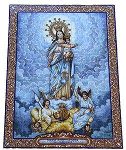 Cuadro de María Auxiliadora
