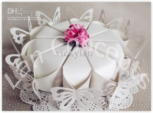 Cheap Candy Box - Discount Diy Party Favor Box Wedding Candy Box Cake Online with $0.37/Piece | DHgate
