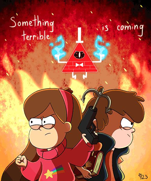 GF- Something terrible is coming... (animation) by AlinaCat923