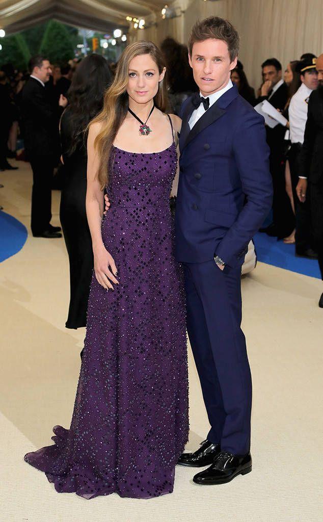 Eddie Redmayne and Hannah Bagshawe from 2017 Met Gala: Red Carpet Couples  Dare we say the Fantastic Beasts star and his wife look fantastic?