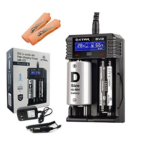 XTAR SV2 Rocket Fast-charging Battery Charger with LCD Co... http://www.amazon.com/dp/B01E3TY6L2/ref=cm_sw_r_pi_dp_AfAoxb1RSN972
